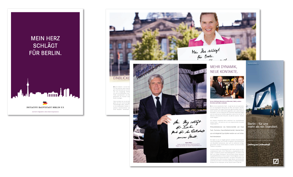 Imagekampage IHB - Imagebroschüre mit Testimonials