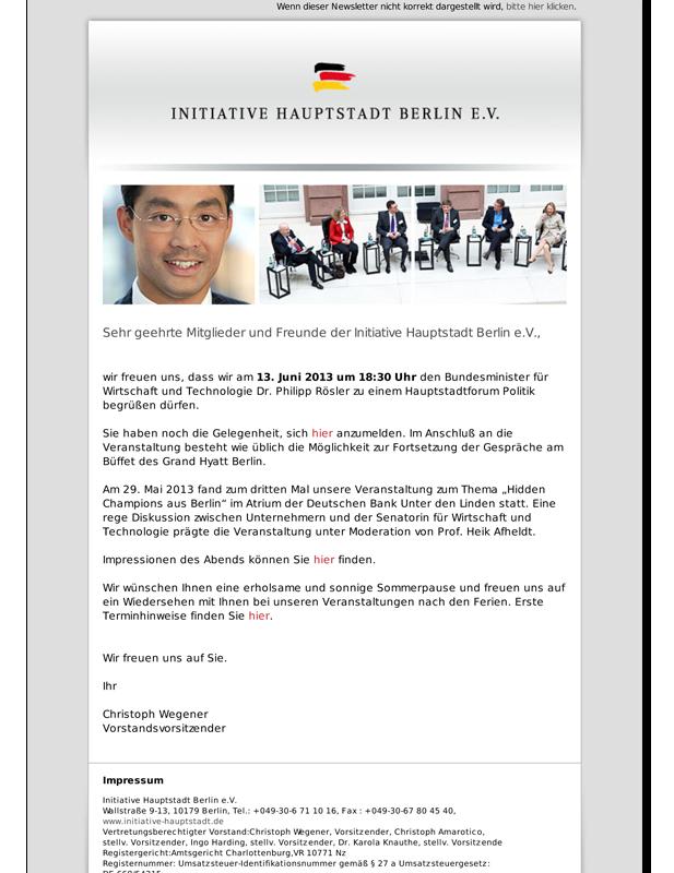 Newsletter IHB