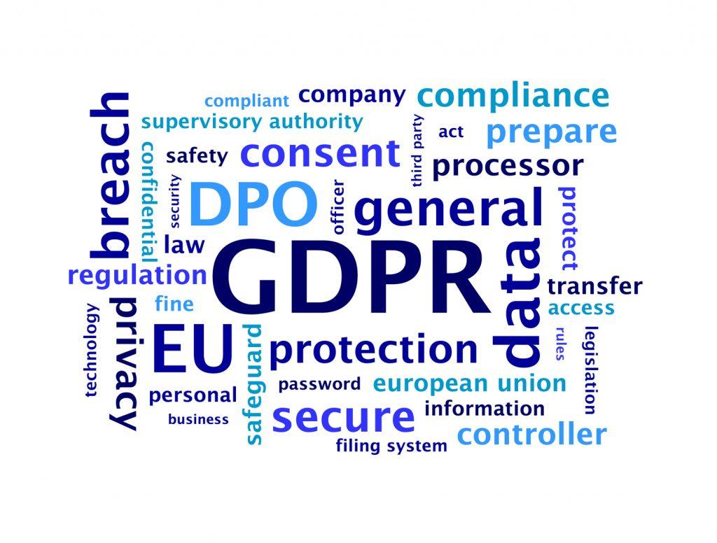 GDPR - General Data Protection Regulation - die neue europäische Datenschutz-Grundverordnung
