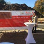 Grundsteinlegung Johanniter-Kinderhaus Pusteblume November 2018