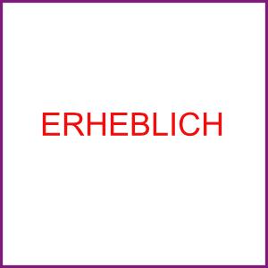 ERHEBLICH